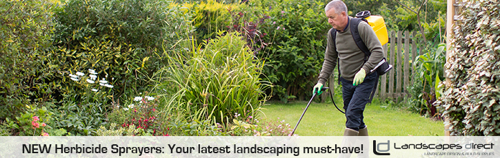 NEW Herbicide Sprayers: Your latest landscaping must-have