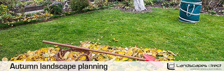 Autumn landscape planning